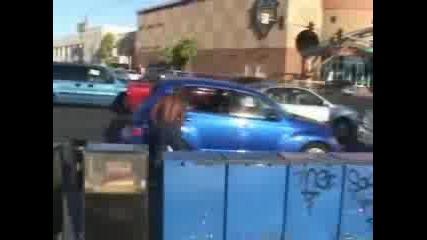 Гангстер си пази паркинга
