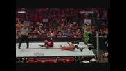 rey mysterio прави двойно 619 на edge и cris jericho - all stars tag team match wreslemania 25