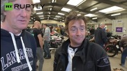 Unemployed Ex-Top Gear hosts May and Hammond sell bikes for quick cash