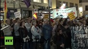 """Spain: Thousands attend """"March for Dignity"""" protest in Madrid"""