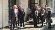 Switzerland: Hmeymim group of Syrian opposition arrives for UN meeting