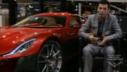 Rimac - Electric Concept One - fastest supercar with 1088hp