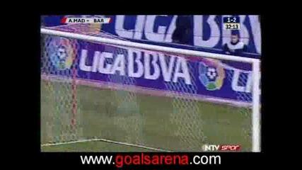 01.03 Атлетико Мадрид - Барселона 4:3 Супер Гол На Диего Форлан