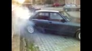 Ford Granada burnout