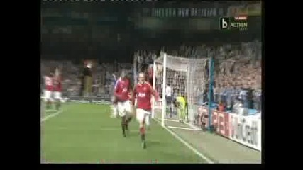 """Уейн Рууни донесе на """"Юнайтед"""" победа с 1:0 на """"Стамфорд Бридж"""""""