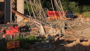 Germany: Scaffolding collapse kills 1, severely injures 6 at bridge construction site