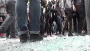 France: Violent clashes rock Paris as tear gas used at labour reform demo