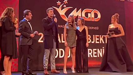 """24. Altın objektif ödül töreninde """"yılın müzikali"""""""