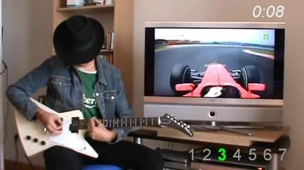 Страшен китарист, който ще ви накаре да ахнете!