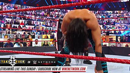Mustafa Ali, Apollo Crews & Ricochet vs. The Hurt Business: Raw, Sept. 28, 2020