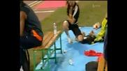 Ужасяващ инцидент по време на състезание