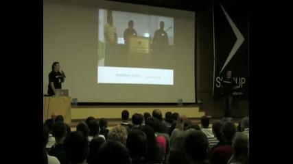 От идеята до инвестиция - Георги Къдрев, Крис Георгиев - StartUP Conference 2010