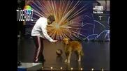 Турция Търси Таланти - изумително куче и стопанин Sub
