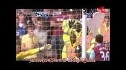 Уест Хам - Манчестър Юнайтед 2:4 - Руни Хетрик, 4 гола за 1 Полу Време, 3 дузпи