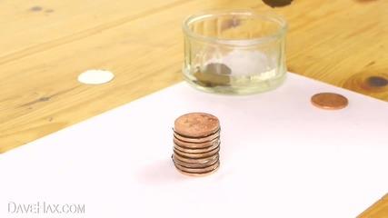 Как да си направите батерия от монети
