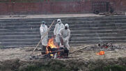 Nepal: Bodies cremated outside as COVID-19 death toll rises in Kathmandu