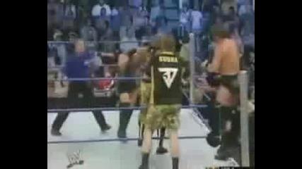 Rey Mysterio, Eddie Guerrero & Rob Van Dam vs Jbl & Dudley Boyz P2