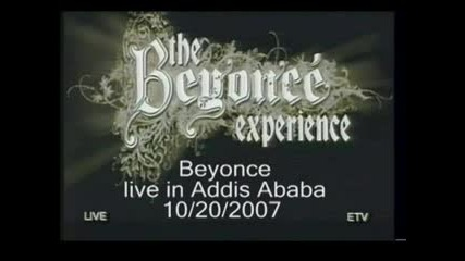 Beyonce Live In Addis Ababa