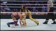 Wwe Superstars 13.05.10 Maryse & Jillian vs. Bella Twins