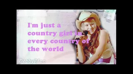 Debby Ryan Country Girl lyrics