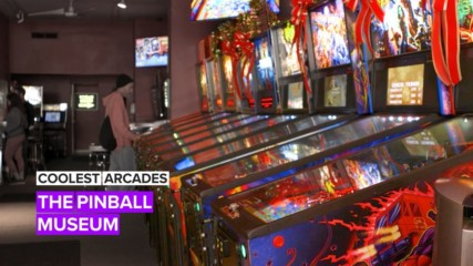 Coolest Arcades: Pinball's making a comeback here