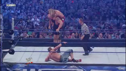 Wrestlemania 25 - John Cena vs Edge vs Big Show part 3