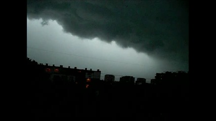 Преди голямата буря във Варна (26.07.2010)