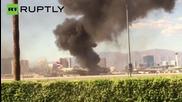 British Airways Boeing 777 Erupts in Flames at Las Vegas Airport