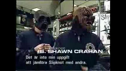 Slipknot - Clown (Shawn Crahan) Interview