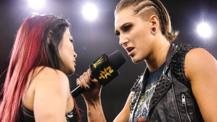 Rhea Ripley confronts Io Shirai: WWE NXT, Oct. 16, 2019