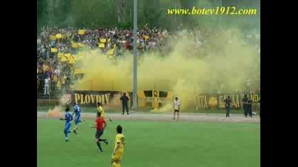 Botev Fans vs A.c.a.b.
