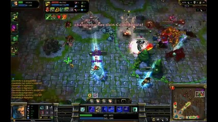 League of legends - Penta Kill