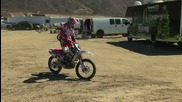trial със кросов мотор