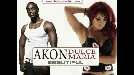 Akon feat. Dulce Maria - Beautiful