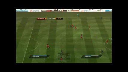 Fifa 11 Bayern Munchen 0:4 Man.united part 1