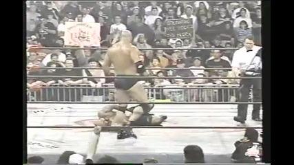 W C W United States Championship - Saturn vs Goldberg (c)