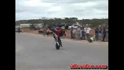 Cool Stunts Performed On Sportbikes