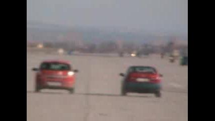 Opel Astra 2.0 16v Turbo & Honda Civic