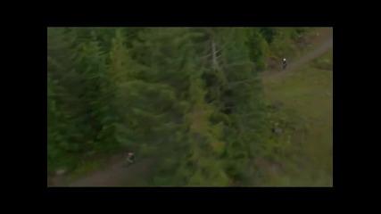 Лудница в гората! Мтб Най - добрия спорт...