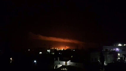 Syria: Army says Damascus outskirts hit with with air strikes