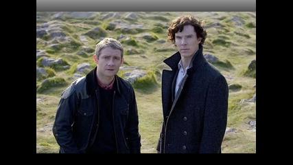 Sherlock Bbc- кратко клипче със снимки!