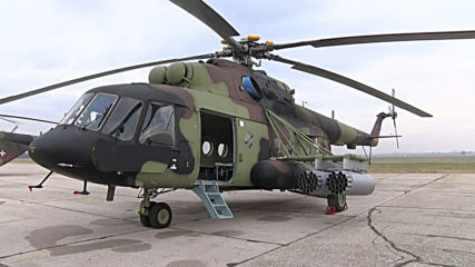 Serbia: Armed forces unveil new fleet of helicopters at air base near Belgrade