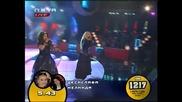 ДесиСлава и Мелинда с песента на Evanescense-Bring me to life-Пей с мен 12.05.08 *HQ*