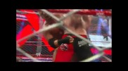 Wwe Extreme Rules 2013 Triple H Vs Brock Lesnar Steel Cage Match Part 1