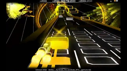 Audiosurf - Skrillex Syndicate