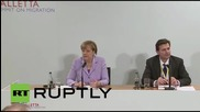 Malta: EU to hold refugee talks with Turkey within weeks, says Merkel
