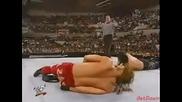Kanyon vs. Bradshaw (wwf European Championship Match) - Wwf Heat 28.10.2001