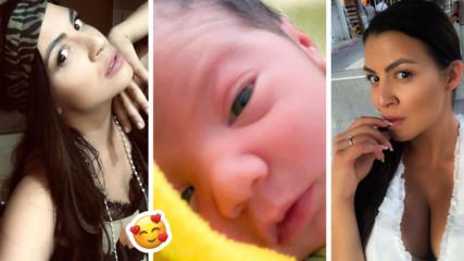 Деси Цонева показа бебчето! Качи и наистина много лична снимка!