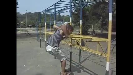 Денис Минин - тренировка
