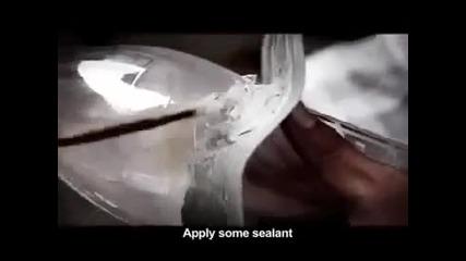 Как да си направим ел крушка от бутилка с вода